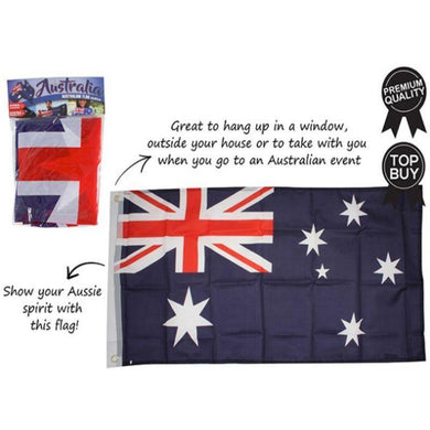 Australian Flag - 45cm x 90cm - The Base Warehouse