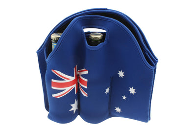 6 Pack Aussie Beer Bottle Holder - The Base Warehouse