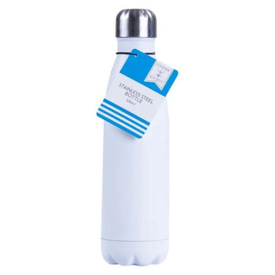 Double Walled Stainless Steel Bottle - 500ml - The Base Warehouse