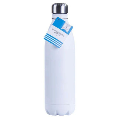Double Walled Stainless Steel Bottle - 1L - The Base Warehouse
