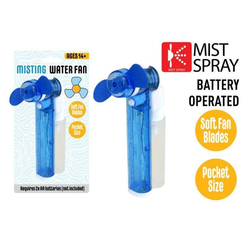 Blue Mist Spray Fan