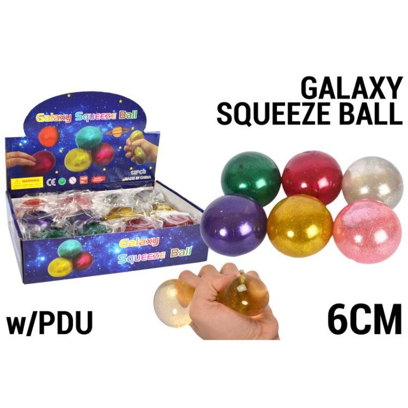 Squeeze Galaxy Ball - 6.5cm