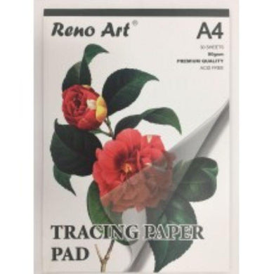 A4 90gsm Tracing Paper Pad - 30 Sheets - The Base Warehouse