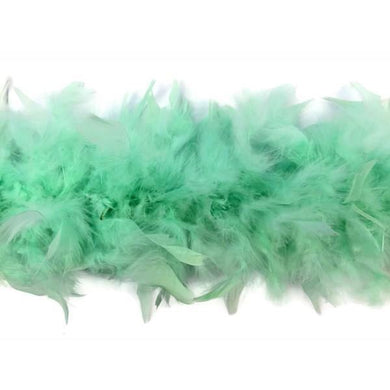 Green Feather Boa - The Base Warehouse