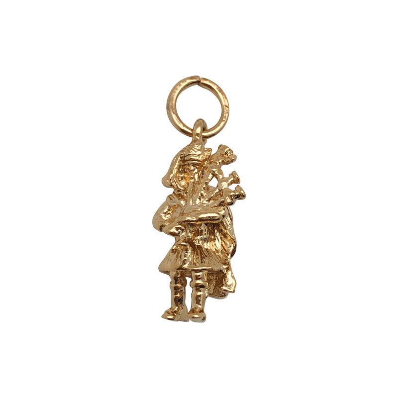 Bagpipe Player Charm - Mirabelle Jewellery