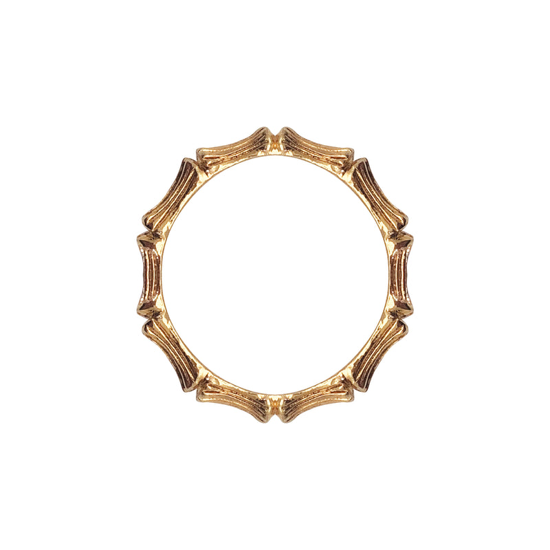 Bamboo Ring - Mirabelle Jewellery