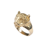 Cat Ring British Made - Mirabelle Jewellery