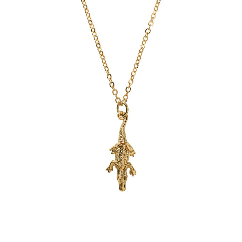 Small Crocodile Charm - Mirabelle Jewellery