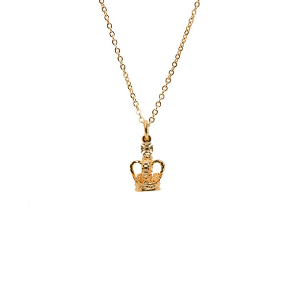 Royal Crown Mini Charm - Mirabelle Jewellery