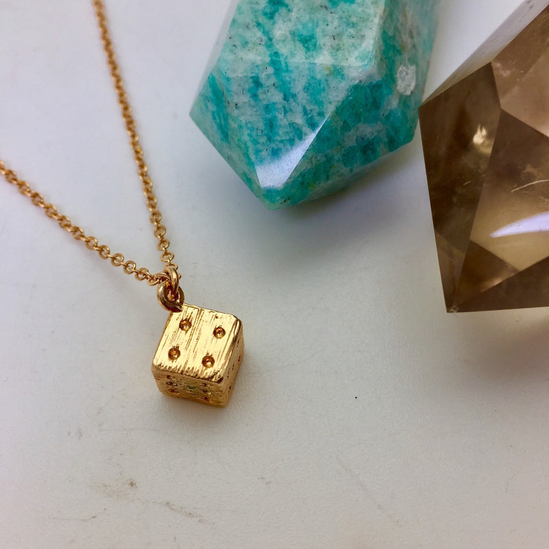 Lucky Dice Charm - Mirabelle Jewellery