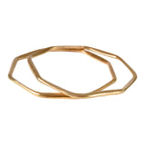 Octagon Bangle - Mirabelle Jewellery