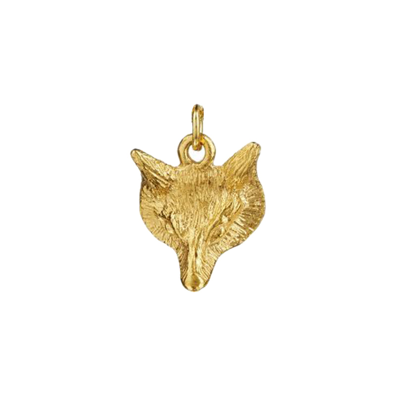 Fox Face Charm - Mirabelle Jewellery