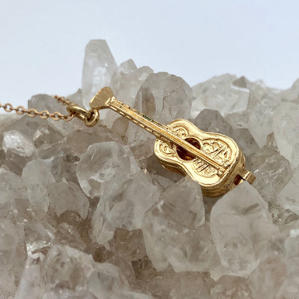 Guitar Charm - Mirabelle Jewellery