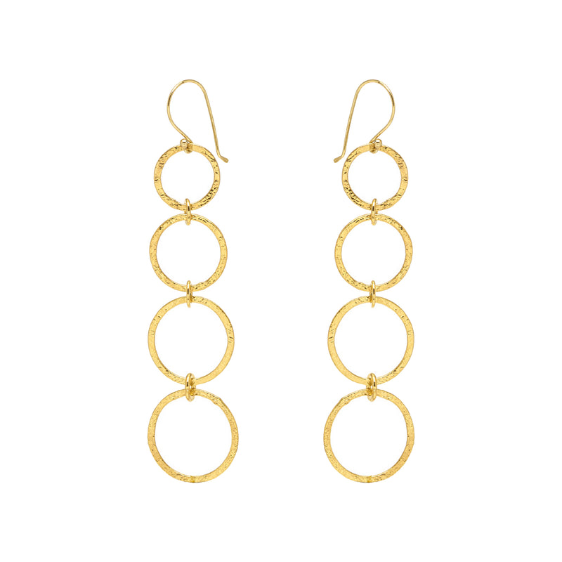 Long Loop Earrings - Mirabelle Jewellery