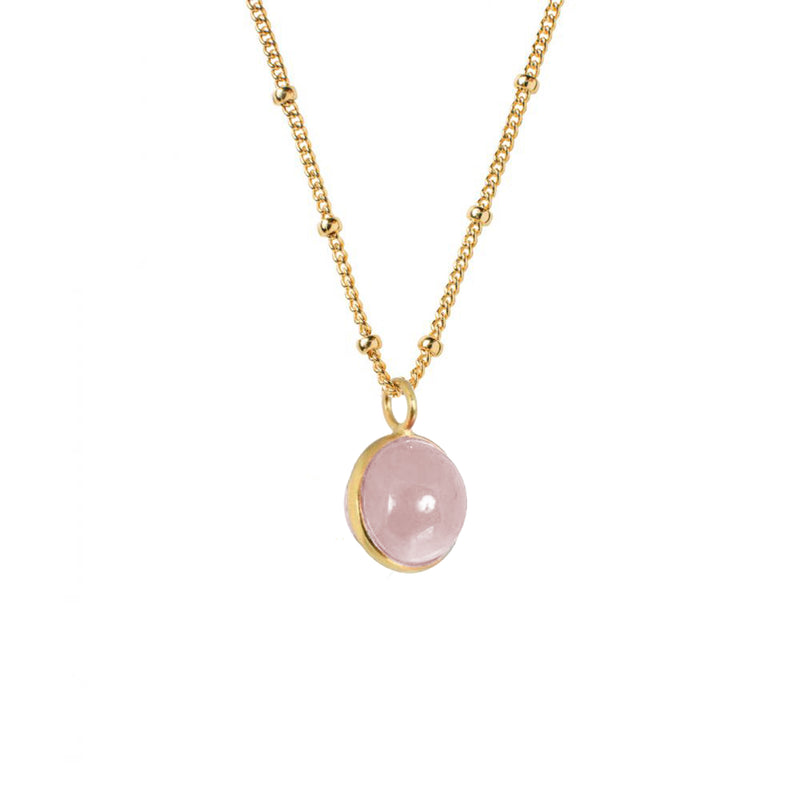 Magic Crystal Ball Rose Quartz - Mirabelle Jewellery