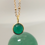 Mini Magic Crystal Ball Green Onyx