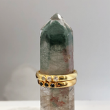 Sarita Ring Rock Crystal - Mirabelle Jewellery