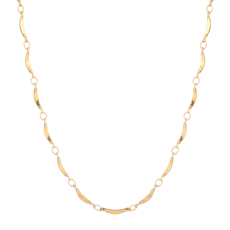 Slice Chain Necklace - Mirabelle Jewellery