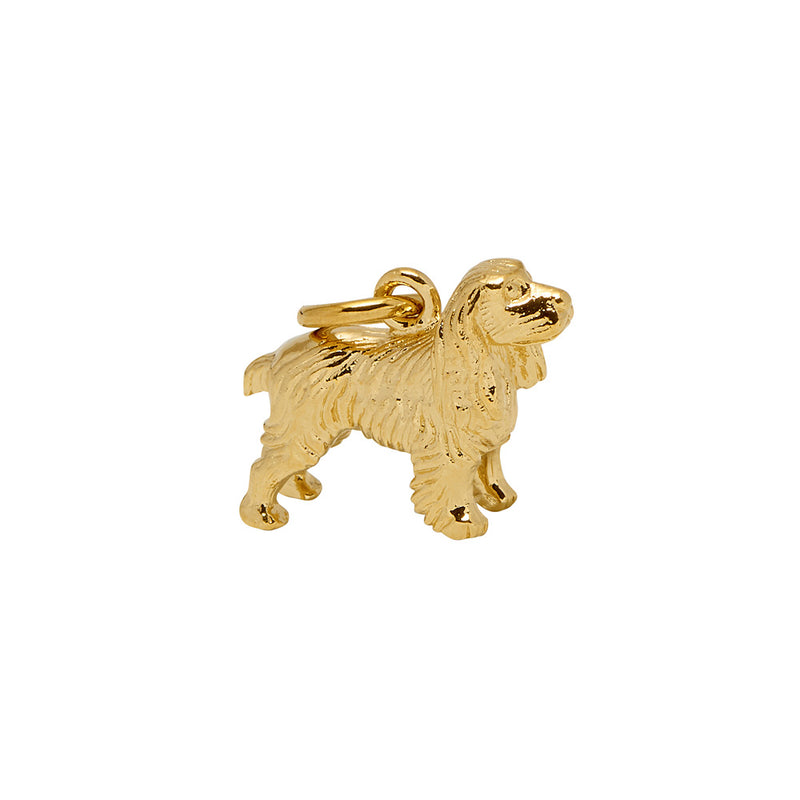 Small Spaniel Charm - Mirabelle Jewellery