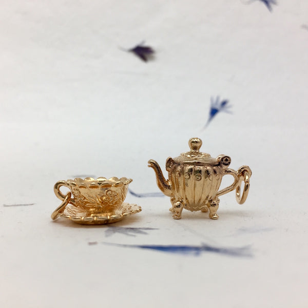 You Are My Cup of Tea Charm - Mirabelle Jewellery