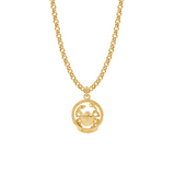 Zodiac Rope Frame Medal - Mirabelle Jewellery