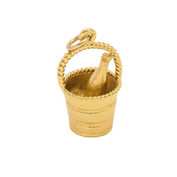 Champagne Bucket Charm - Mirabelle Jewellery