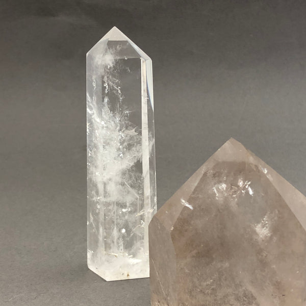Tall Crystal Quartz point - Mirabelle Jewellery