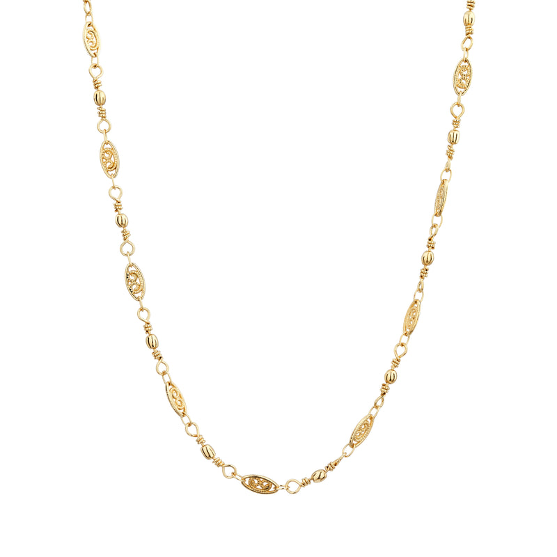 Louise Chain Necklace - Mirabelle Jewellery