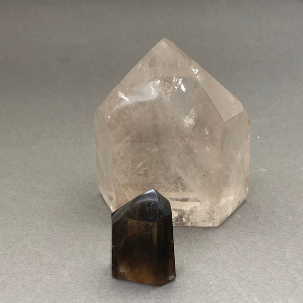 Smoky Quartz point - Mirabelle Jewellery
