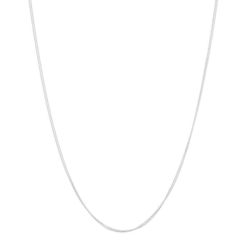 Sterling Silver Simple Chain - Mirabelle Jewellery