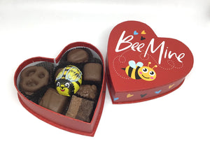 Bee Mine Heart Box