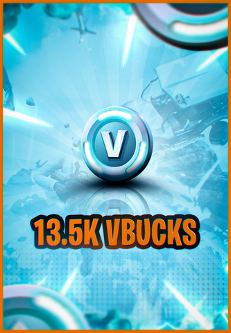 13.500 V-Bucks PC/XBOX/Mobile/PS4 (Few Hours Delivery)