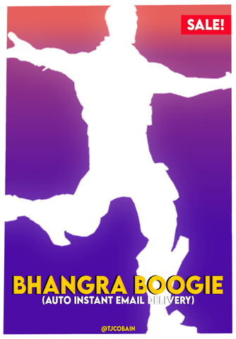 Bhangra Boogie Emote (Auto Instant Email Delivery)