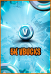 5.000 V-Bucks PC/XBOX/Mobile/PS4 (Few Hours Delivery)