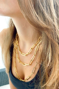 Large Links Necklace