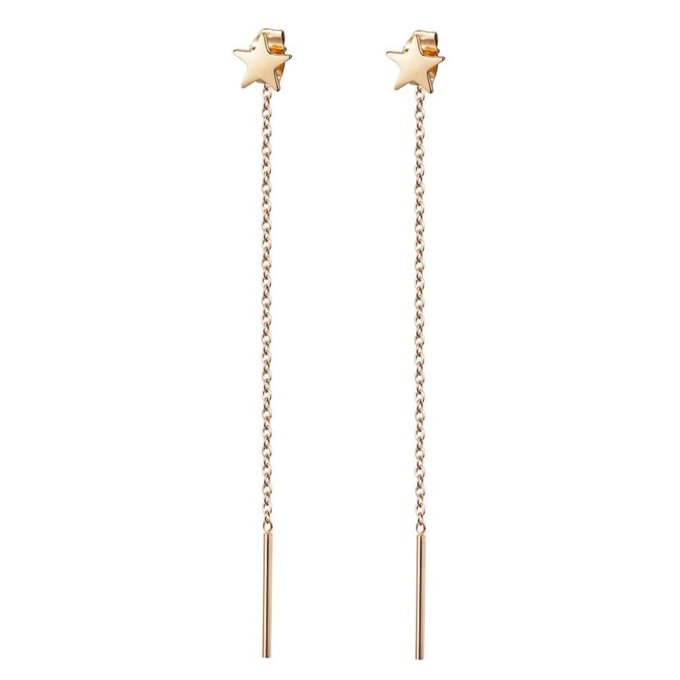 Gold Plated Etoile Earrings