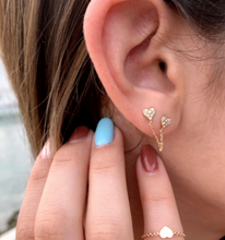 Load image into Gallery viewer, Juliet Connected Stud Earring