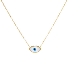 Load image into Gallery viewer, Tiny Evil Eye Necklace