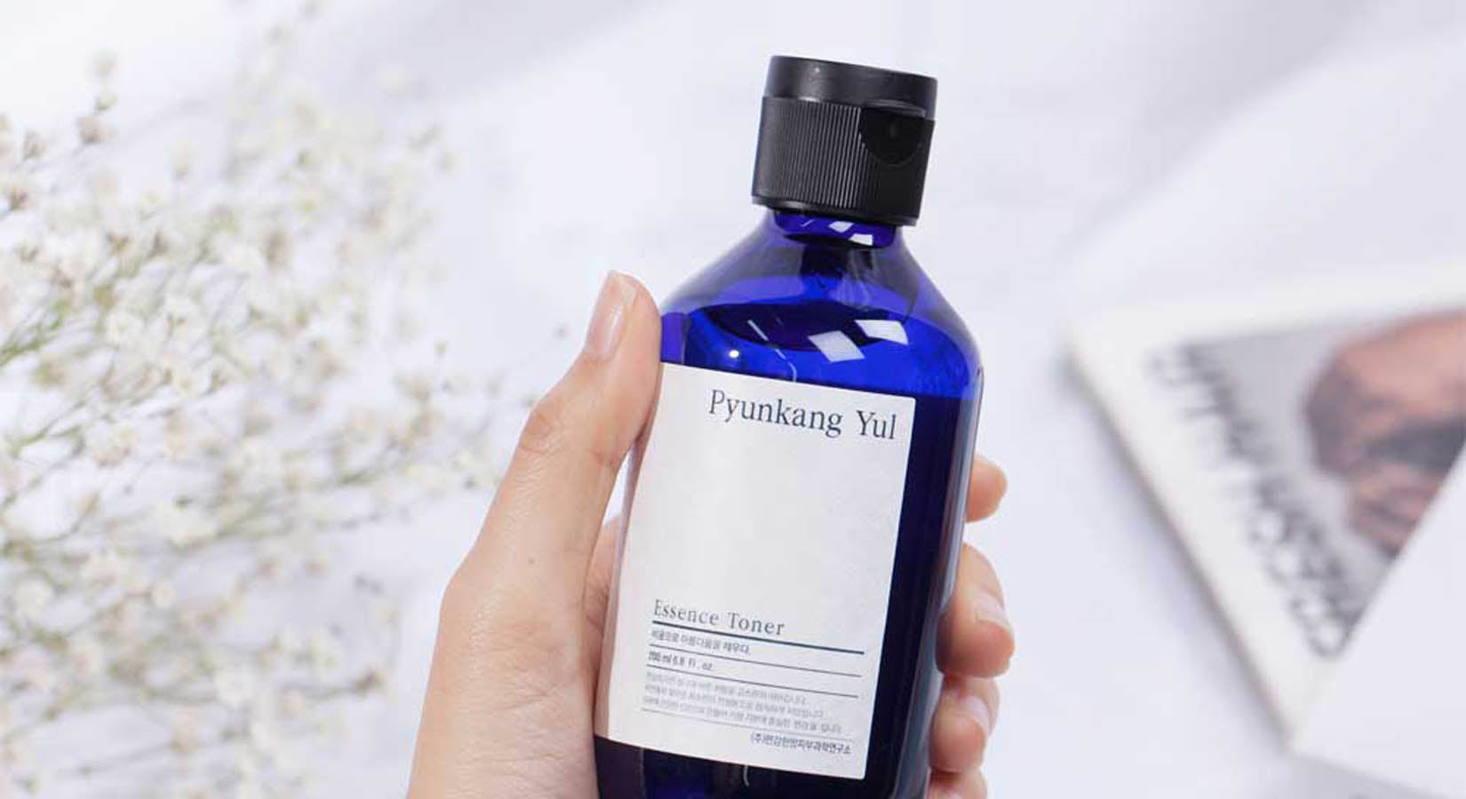 Korean Skincare is all about toner. A toner will restore your natural pH after cleansing while moisturising your skin.