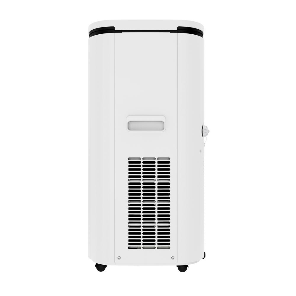 Alexa-Ready 14,000 BTU (7,500 BTU, DOE) Portable A/C and Dehumidifier Wi-Fi Enabled with App and Voice Control in White