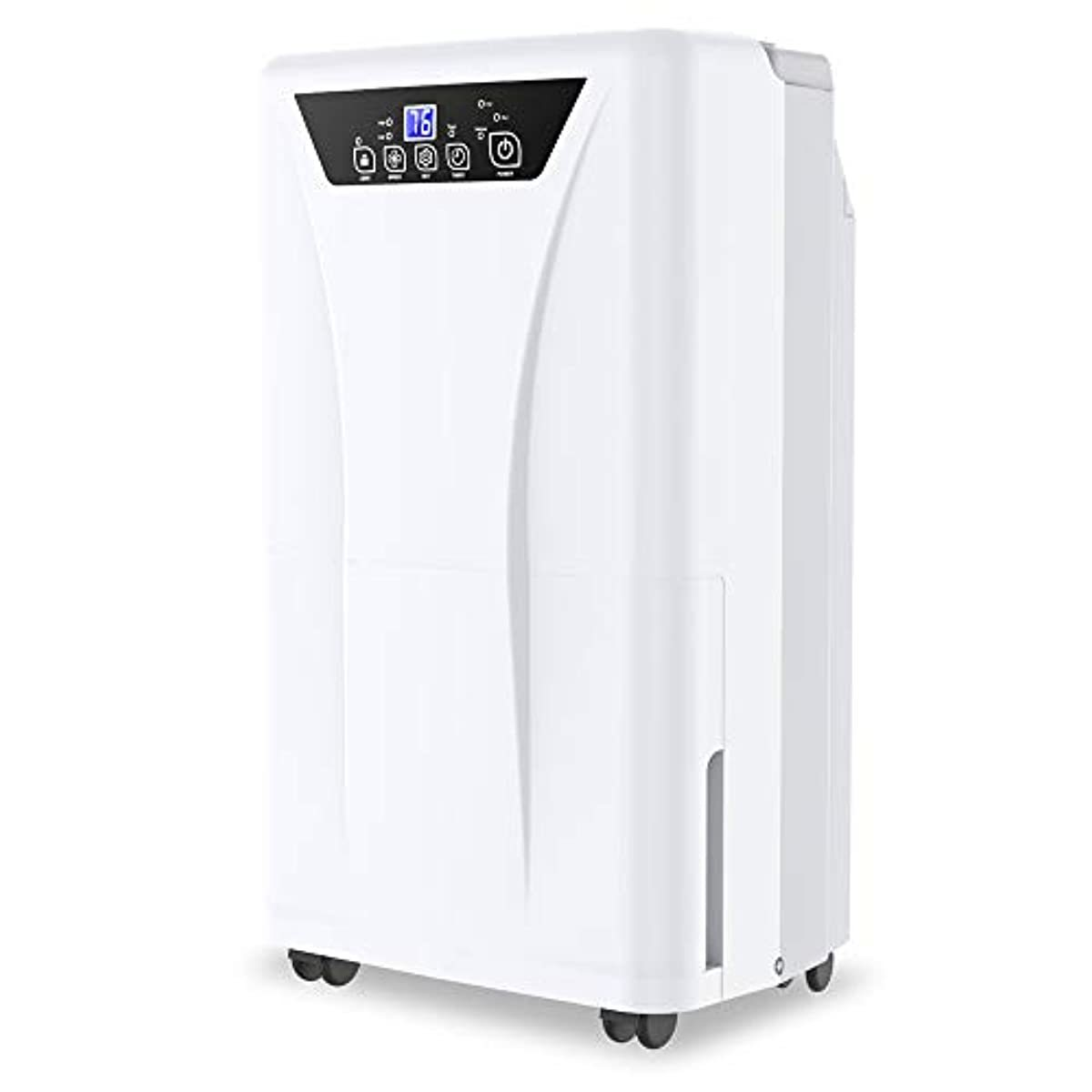 Kesnos 2500 Sq. Ft Dehumidifier for Home and Basements with Drain Hose