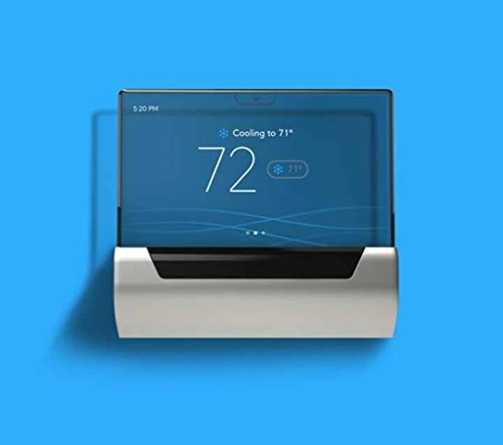 GLAS Smart Thermostat by Johnson Controls, Translucent OLED Touchscreen, Wi-Fi, Mobile App, Works with Amazon Alexa