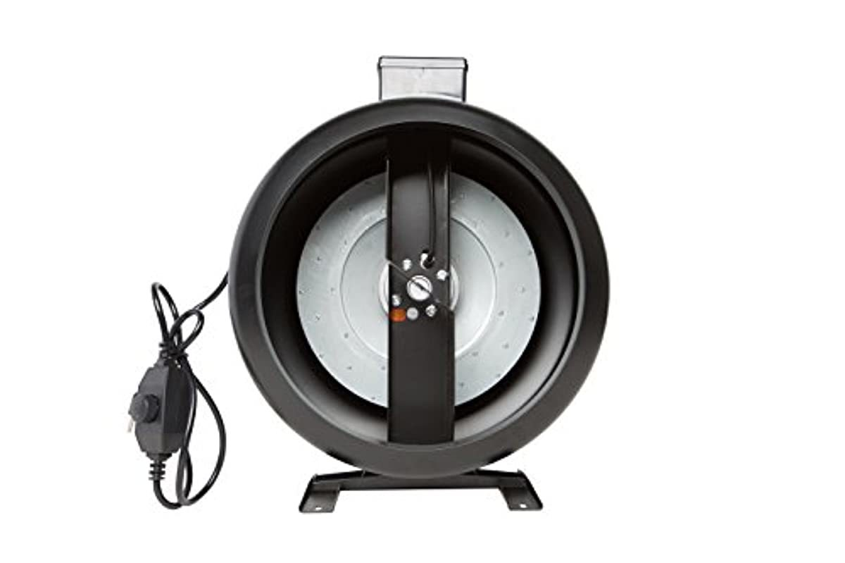 HYDRO PLANET 10-Inch 1150CFM Inline Duct Fan with Built-In Free Variable Speed Controller for Grow Tent | Hydroponics Fan | Inline Fan
