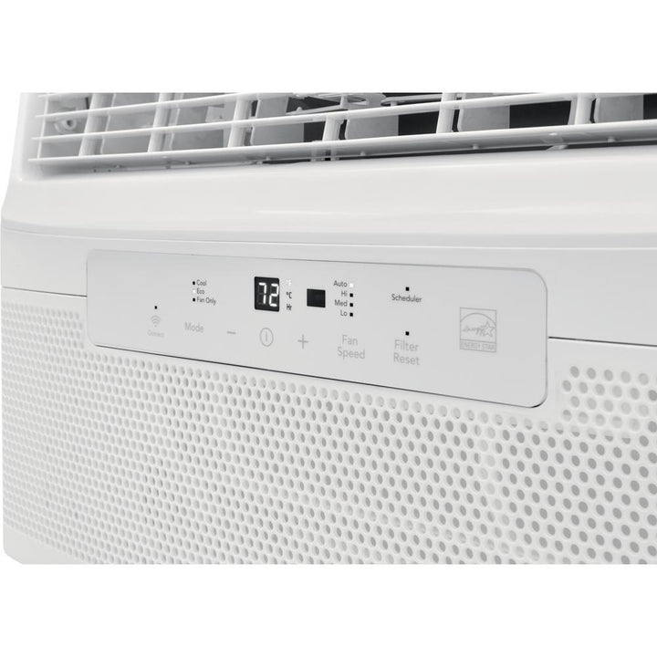 8,000 BTU Cool Connect Quiet Temp Smart Room Air Conditioner in White