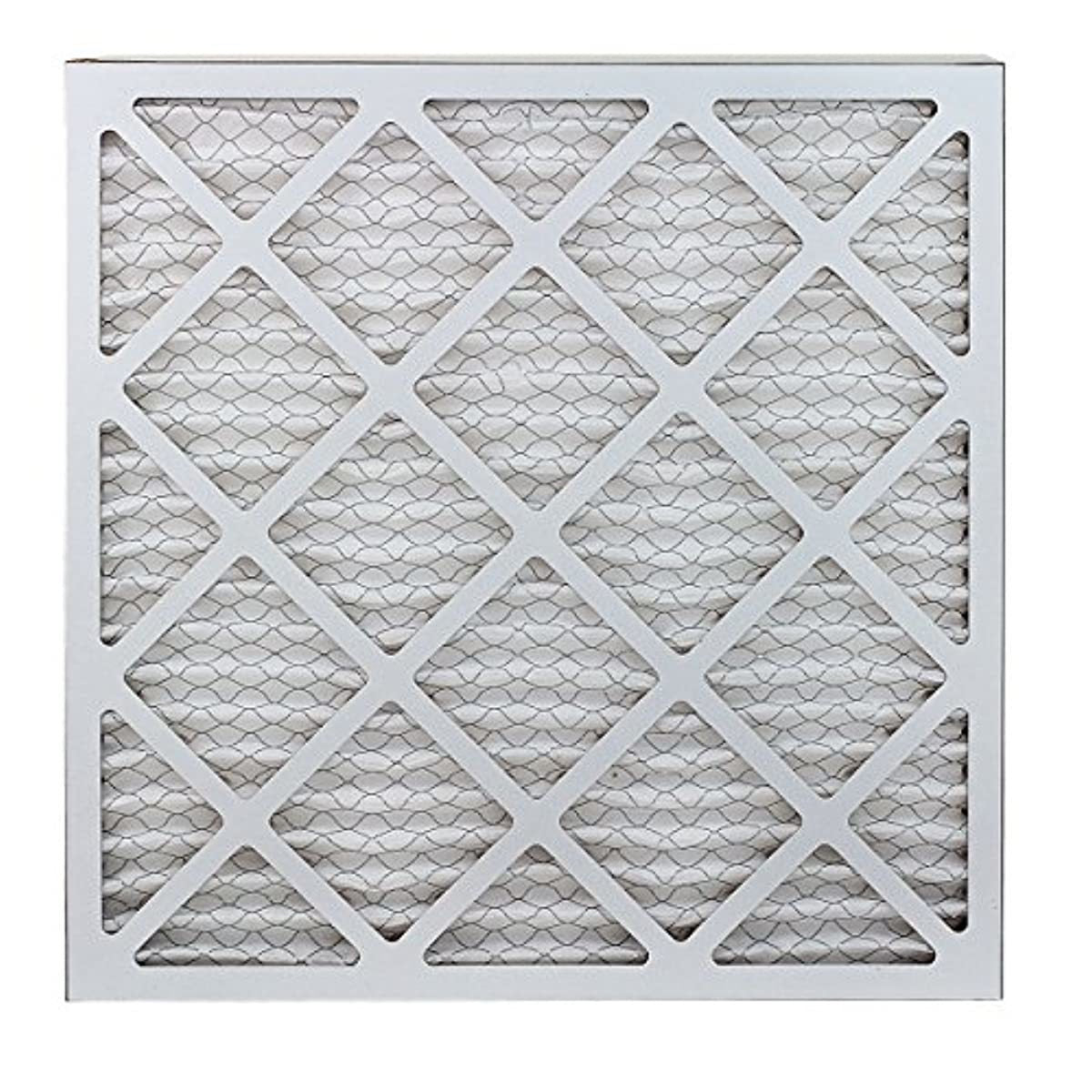 FilterBuy 20x20x1 MERV 13 Pleated AC Furnace Air Filter, (Pack of 6 Filters), 20x20x1 – Platinum