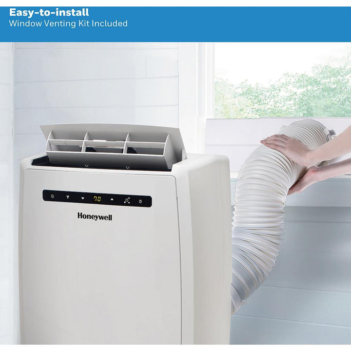 12,000 BTU (6,500 BTU (DOE) Portable Air Conditioner with Heater and Dehumidifier