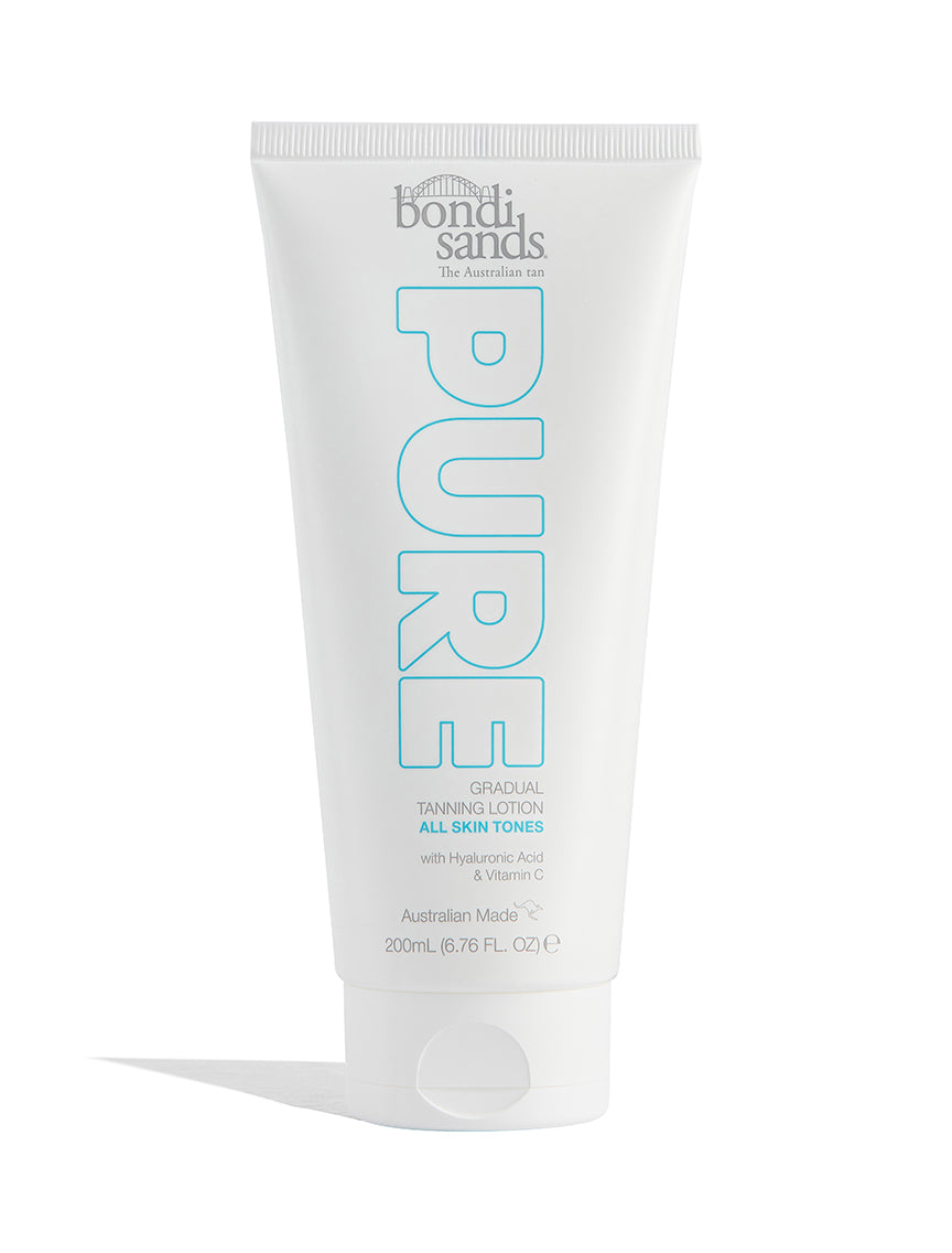 Australian Made PURE Gradual Tanning Lotion For All Skin Tones