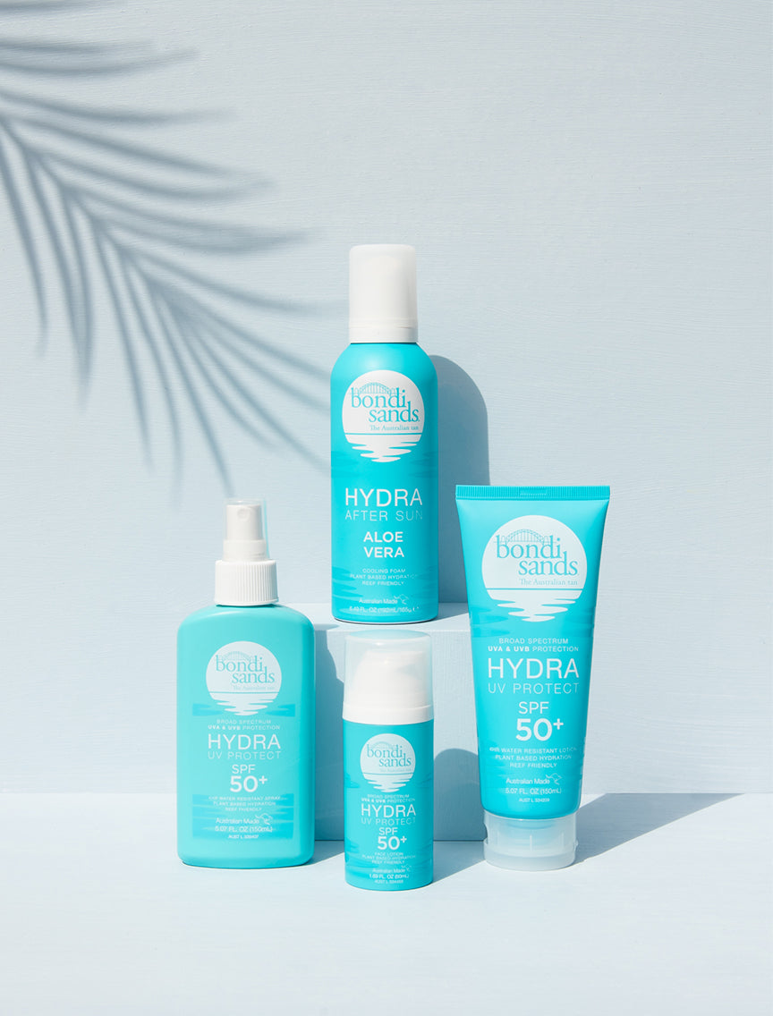 Bondi Sands Hydra Collection of SPF And Aloe Vera