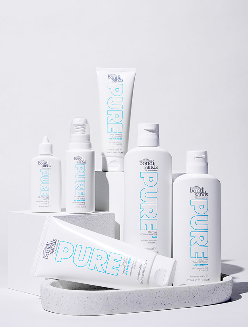 Australian Made Sustainable Self Tan Range PURE