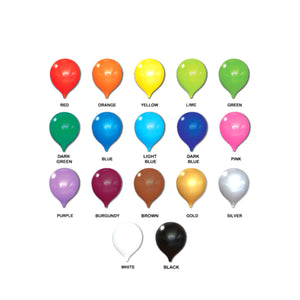 Latex Balloons (3-5 days leadtime) - 10pcs